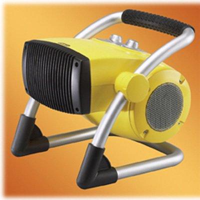 LASKO Stanley 1500W Pro-Ceramic Utility Heater with Pivot Power, Yellow