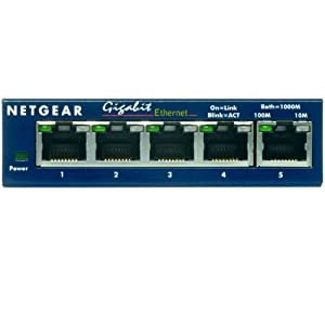 Netgear Gs105 Switch on Netgear Gs105 5 Port Gigabit Ethernet Switch  Amazon Co Uk  Computers
