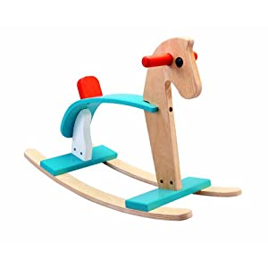 plan toys rocking horse arabian