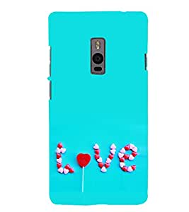 Love 3D Hard Polycarbonate Designer Back Case Cover for OnePlus 2 :: OnePlus Two :: One +2