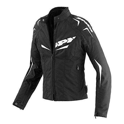 Spidi T173-011 Blouson Textile NW 200 Femme, Noir/Blanc, Taiile XL