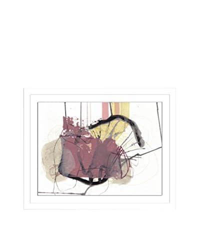 Jaime Derringer Blush Artwork on Framed Paper