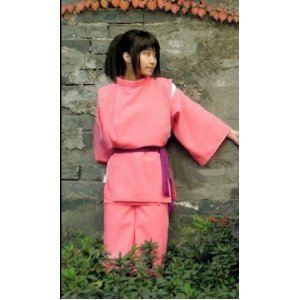 High quality cosplay costumes COSFAMILY 086 ◆ Sen and Chihiro's spirited Chihiro / cosplay costumes and fully customizable