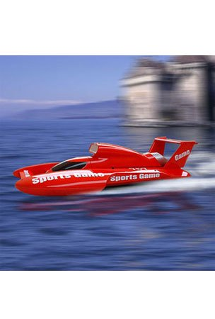 Buy Remote Control Racing Hydro Boat Rc 1:25 Scale Color May Vary