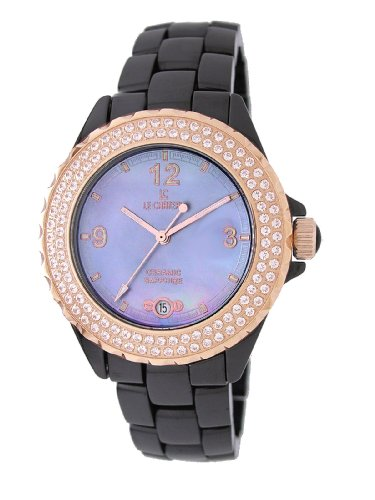Le Chateau Women's 5808_BLMOP All Ceramic and Zirconias Condezza LC Collection Watch