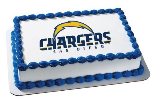 1/4 Sheet ~ NFL San Diego Chargers Football Logo