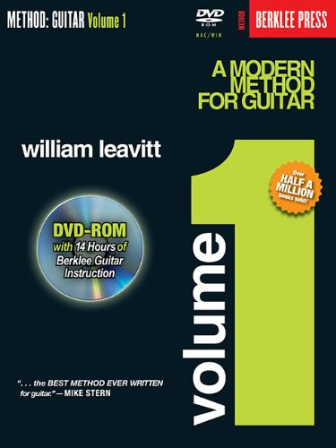 A Modern Method for Guitar - Volume 1: Book/DVD-ROM Pack (Method (Berklee Press))