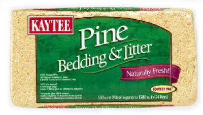 Kaytee Pine Bedding for Pet Cages 41t11MSkYOL