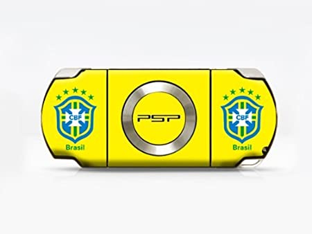 2010 FIFA World Cup for BRASIL PSP (Slim) Dual Colored Skin Sticker, PSP 2000