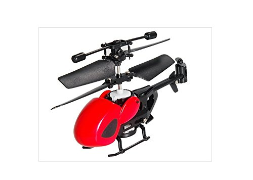 Qs5013 2.5 Ch Mini Micro Ir Remote Control Rc Helicopter (Red & Black)