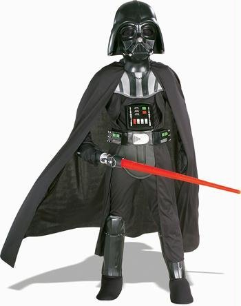 Costumes For All Occasions Ru82014Md Darth Vader Dlx Chld Md W Mask