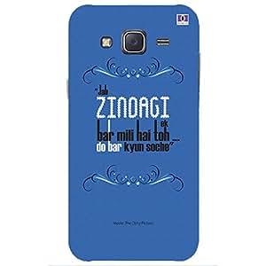 Zindagi - Mobile Back Case Cover For Samsung Galaxy J5 (2015)