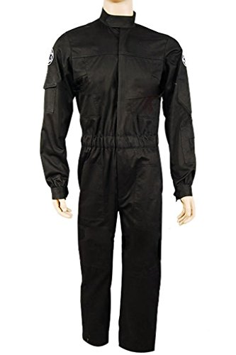 UU-Style Imperial Fighter Pilot Uniform Flight Suit Cosplay Costume Outfit (Imperial Flight Suit compare prices)