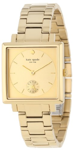 kate spade new york Women's 1YRU0085 Gold Empire Bracelet Watch