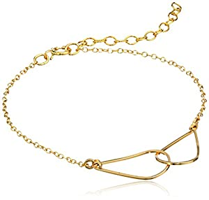 "By Boe ""Double Link Bracelet"" 14k Gold Filled, 6"""