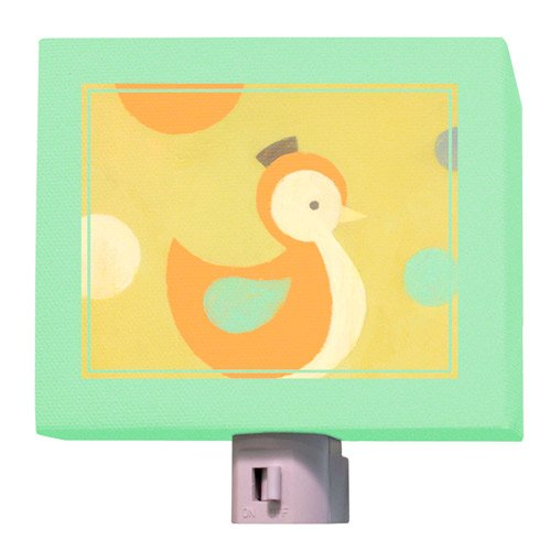 Oopsy Daisy Fine Art for Kids NL8655BT Poser Duckling Night Light
