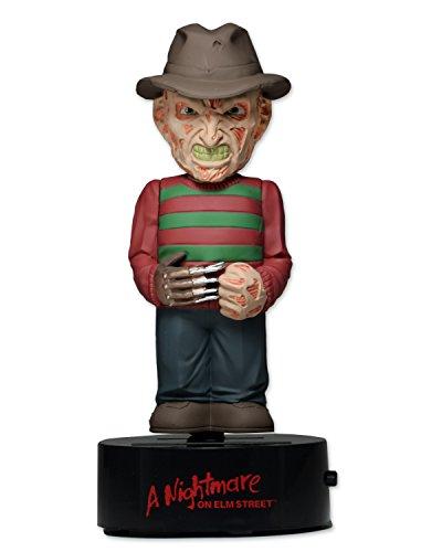 NECA NECA39758 - Nightmare in Elm Street - Freddy Krueger corpo Battente Solar Powered Bobble, 15 cm