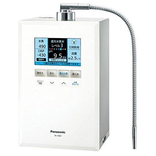 パナソニック 還元水素水生成器 ホワイトPanasonic TK-HS91-W