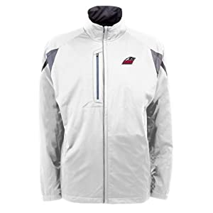 New Mexico Lobos NCAA Highland Mens Full Zip Sports Jacket (White) by Antigua