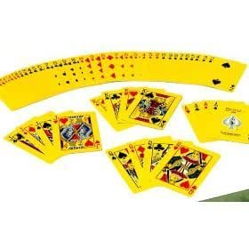 "Bicycle ""The Yellow Deck"" Playing Cards Magic 4 Gaff Magic Maker"