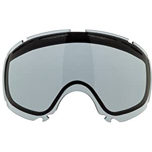 Oakley Canopy Goggle Replacement Lens Dark Grey, One Size