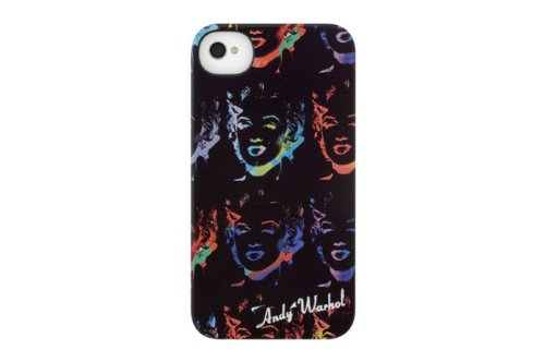 INCASE(インケース)ANDY WARHOL SNAP CASE for iPhone4S (Marilyn Reversal Black(CL59925))
