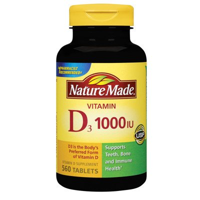 Nature Made Vitamin D 1,000 IU - 560 Tablets