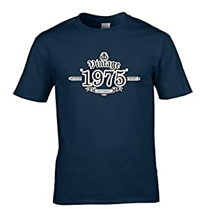 1975 Vintage Year Aged To Perfection Tshirt Mens Small - 5XLarge