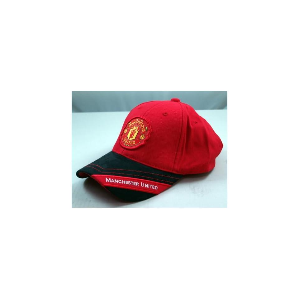 FC MANCHESTER UNITED OFFICIAL TEAM LOGO CAP / HAT   MU021