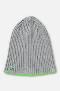 Kid's Green Croc Ribbed Beanie