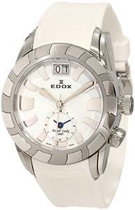 (浪琴)Edox 依度 62005 3 NAIN Royal Lady珍珠表盘GMT世界时瑞士造女士腕表 $473.29