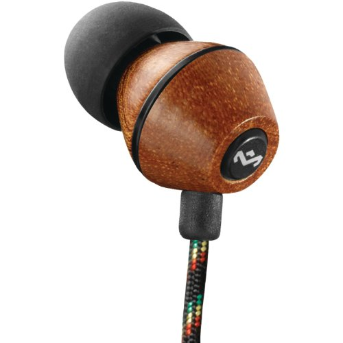 The House Of Marley Em-Je013-Mi People Get Ready - Jammin In-Ear Headphone With 3-Button Mic - Midnight