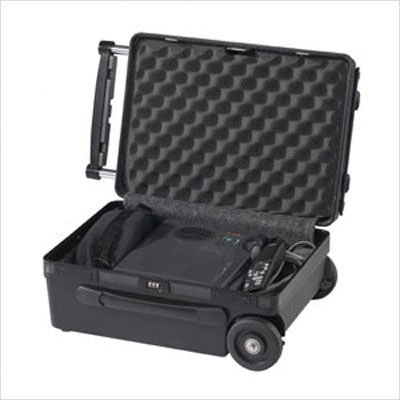 Elite AVCS Single Professional Audio, Video, Projector or Computer Rolling Case