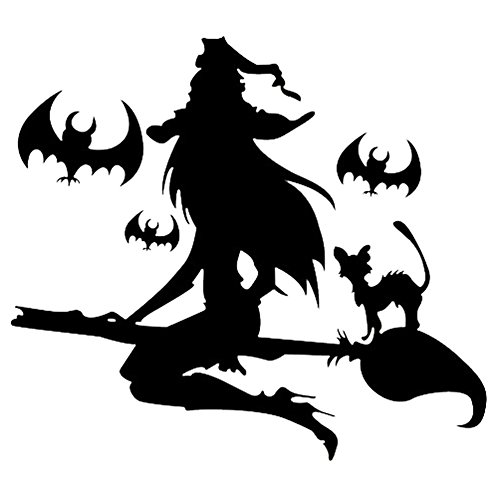 tang-imp-halloween-black-witch-decal-decor-removable-home-decor-wall-stickers-window-wall-paper
