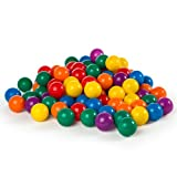 100 Intex Multi Coloured Fun Ballz for Ball Ponds or Play Pits - Kids Love Them! #49602