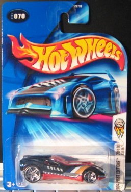 Hot Wheels 2004 First Editions CUL8R 70/100 BLACK 070 1:64 Scale - 1