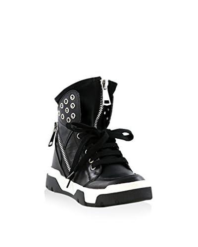 STUDIO ITALIA Sneaker Alta [Nero]