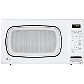 LCS1410SW %2D 1%2E4 cu%2E ft%2E Countertop Microwave Oven %2D White