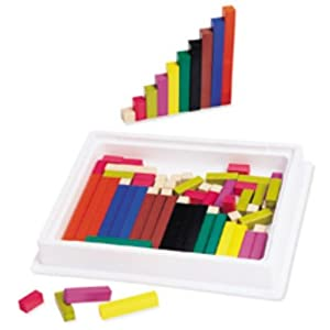 Amazon.com: Cuisenaire Rods Intro. Set Wood: Toys & Games: Reviews, Prices & more