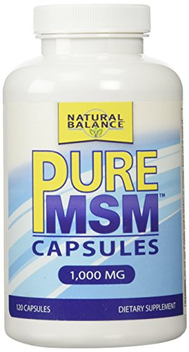 Natural balance 1000 mg pure msm nutritional supplement
