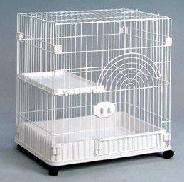 GB 国産 猫用ケージ Sクラス C?01 棚板一枚タイプ ホワイト