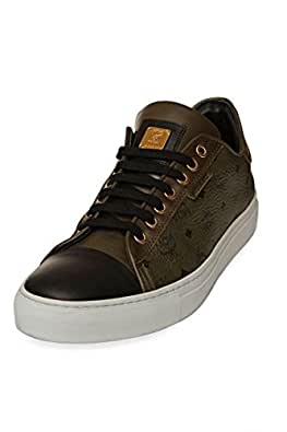 mcm by michalsky unisex schuhe sneaker urban nomad 3 low x mcm farbe olivgruen gr e 45. Black Bedroom Furniture Sets. Home Design Ideas