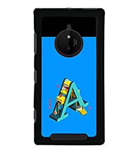 printtech Cool Quotes Back Case Cover for Nokia Lumia 830 RM-984