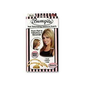 Bumpits Hair Volumizing Leave-In Inserts, Blonde 3 ea
