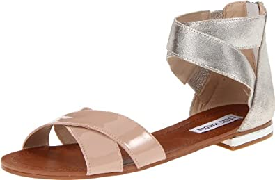 Steve Madden Women's Benadet Sandal,Blush Multi,5.5 M US