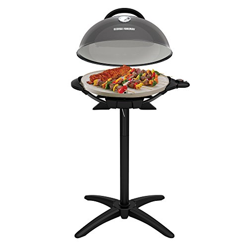 Walmart Electric Grills Outdoor ~ George foreman gfo gm indoor outdoor gun metal electric