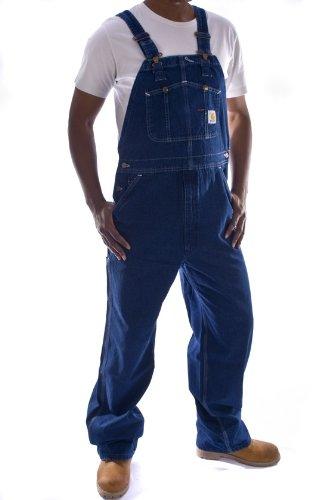 Carhartt  Latzhose, Denim  Stone washed jeanslatzhose jeans latzhosen männer  BekleidungKritiken und weitere Informationen