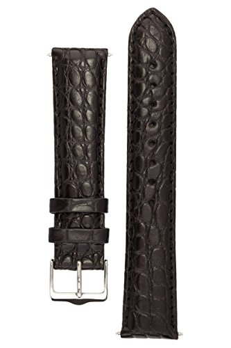 signature-desire-in-black-18-mm-watch-band-replacement-watch-strap-genuine-alligator-leather-silver-