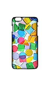 Geometric Painted Pattern Mobile Back Cover/Case For Apple iPhone 6 PLUS