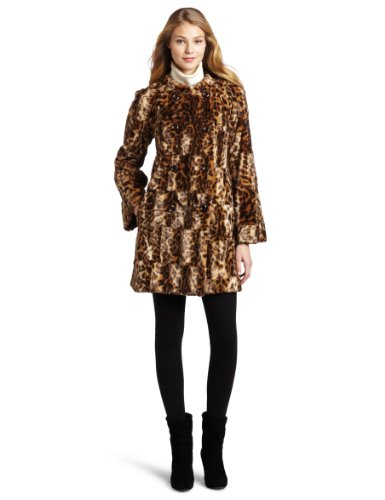 Trina Turk Women's Faux Fur Jacket